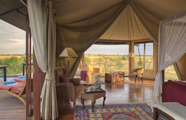 Honeymoon Suite - Olare Mara Kempinski
